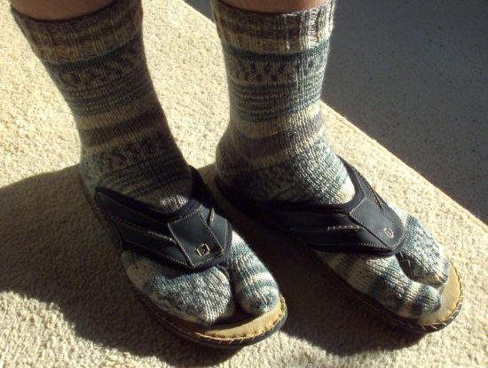 FlipFlop-Socken