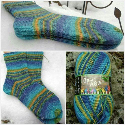 Und schon wieder Socken :-)